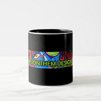 Zombie Fresh Logo Two-Tone Coffee Mug