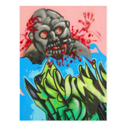 Zombie Fresh! Postcard