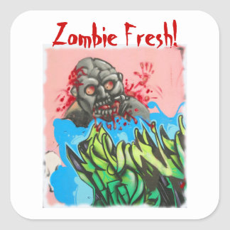 Zombie Fresh! Sticker