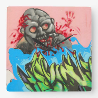 Zombie Fresh! Wall Clock