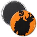 Zombie Fridge Magnet