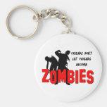 Zombie Friends Keychain