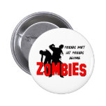 Zombie Friends Pinback Button