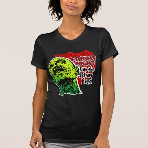 Zombie Fright Night Tshirt