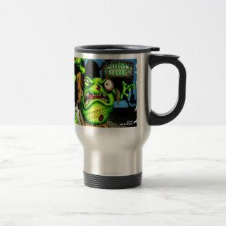 Zombie Frogs Travel Mug