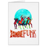 Zombie Funk Greeting Card