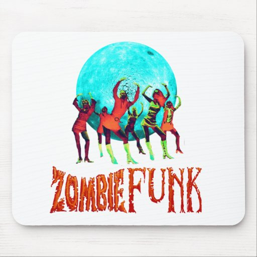 Zombie Funk Mouse Pad