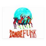 Zombie Funk Postcard