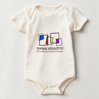 Zombie Geometry - Basic Baby Bodysuit