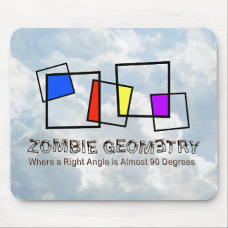 Zombie Geometry - Basic Mouse Pad