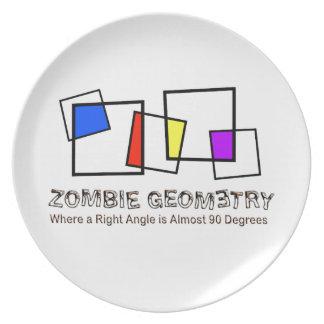 Zombie Geometry - Basic Plate