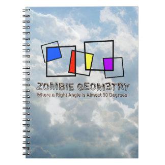 Zombie Geometry - Basic Spiral Notebook