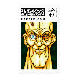 Zombie Get a Life Postage