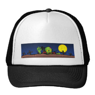 ZOMBIE GHETTO BANNER 2 MESH HAT