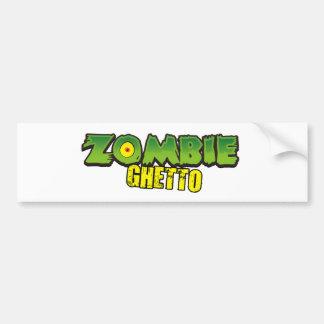Zombie Ghetto - The Zombie Ghetto Logo Bumper Stickers