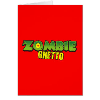 Zombie Ghetto - The Zombie Ghetto Logo Card