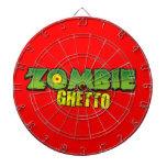 Zombie Ghetto - The Zombie Ghetto Logo Dart Boards
