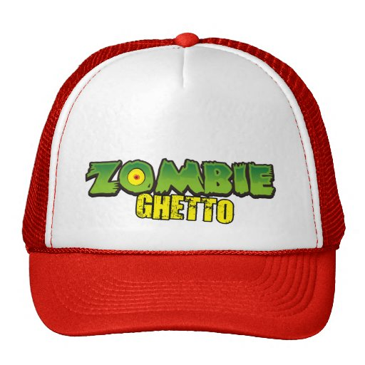 Zombie Ghetto - The Zombie Ghetto Logo Mesh Hat