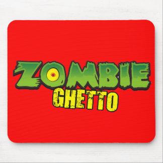 Zombie Ghetto - The Zombie Ghetto Logo Mousepad