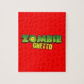 Zombie Ghetto - The Zombie Ghetto Logo Puzzles
