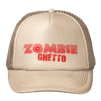 ZOMBIE GHETTO WRITTEN LOGO 13 MESH HAT