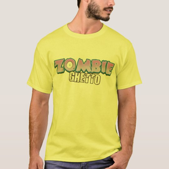 ZOMBIE GHETTO WRITTEN LOGO 23 T-Shirt