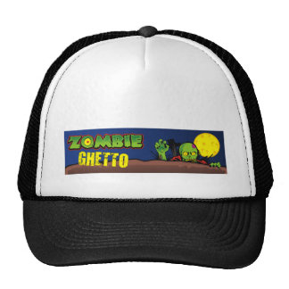 Zombie Ghetto, Zombie in front of Full Moon Trucker Hat