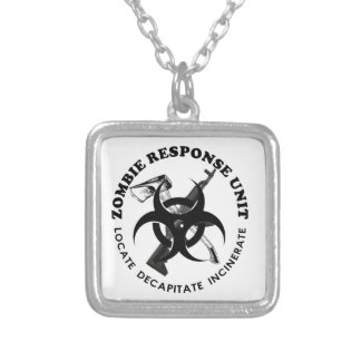 Zombie Gift Response Team Gifts Customize Pendants