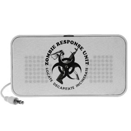 Zombie Gift Response Team Gifts Customize Mini Speakers
