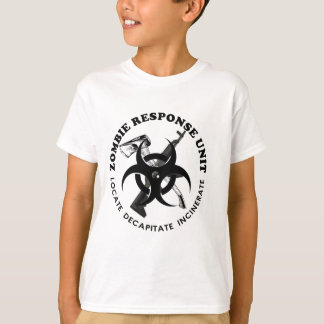 Zombie Gift Response Team Gifts Customize T-Shirt