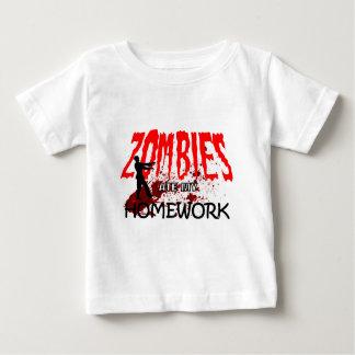 Zombie Gift Zombies Ate My Homework Baby T-Shirt