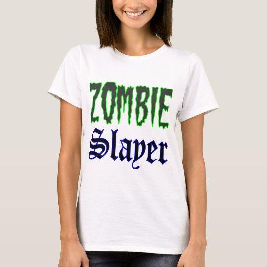 Zombie Gifts Zombie Slayer logo T-Shirt