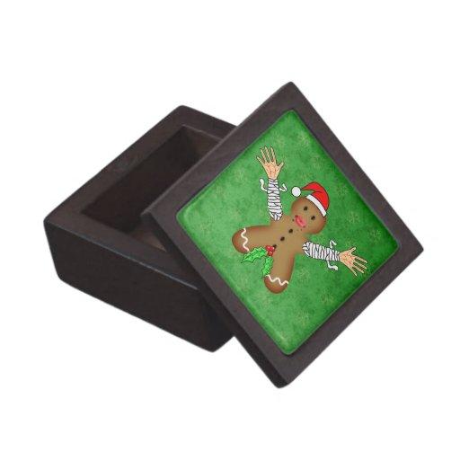 Zombie Gingerbread Premium Trinket Boxes