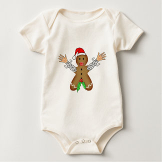 Zombie Gingerbread Baby Bodysuits