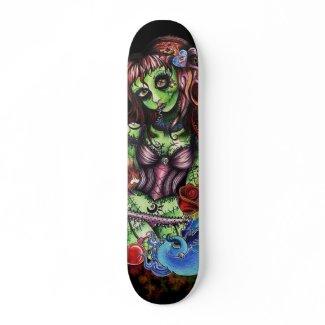 Zombie Girl 3 skateboard