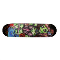 Zombie Girl 3 Skateboard Deck