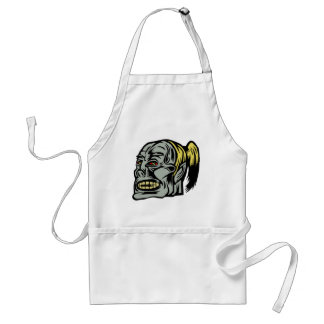 zombie girl aprons