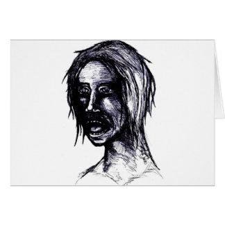 Zombie Girl Card