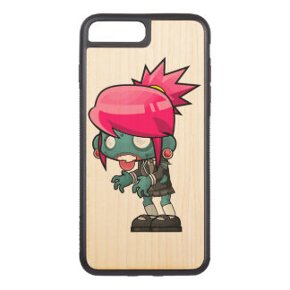 Zombie Girl Carved iPhone 8 Plus/7 Plus Case