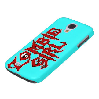 Zombie Girl Galaxy S4 Covers