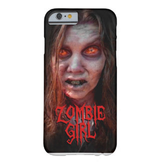 Zombie girl barely there iPhone 6 case