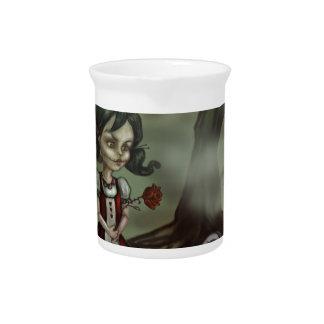 Zombie Girl Finds True Love in a Graveyard Beverage Pitcher