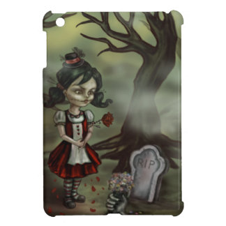 Zombie Girl Finds True Love in a Graveyard Case For The iPad Mini
