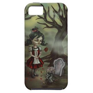 Zombie Girl Finds True Love in a Graveyard iPhone SE/5/5s Case