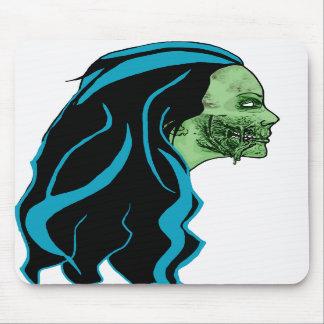 Zombie Girl Mousepad