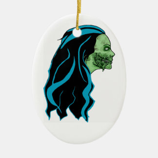 Zombie Girl Ornament