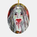 Zombie Girl Ornament