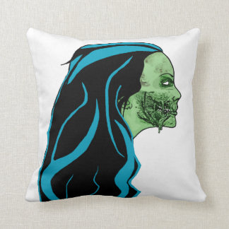Zombie Girl Pillow