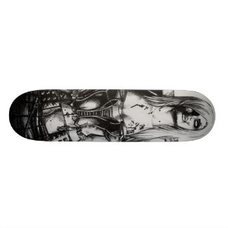 Zombie Girl Skate Board Decks