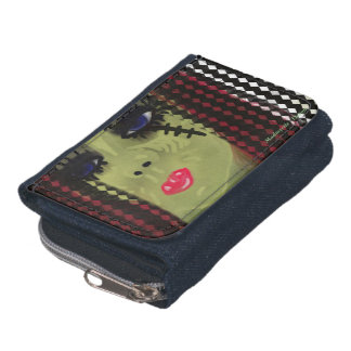 Zombie Girl Wallet By Madmyrtle - Design
